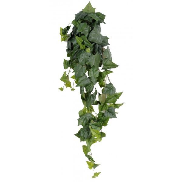 Lierre artificiel 125cm 141 grandes feuilles sur pique for Lierre artificiel