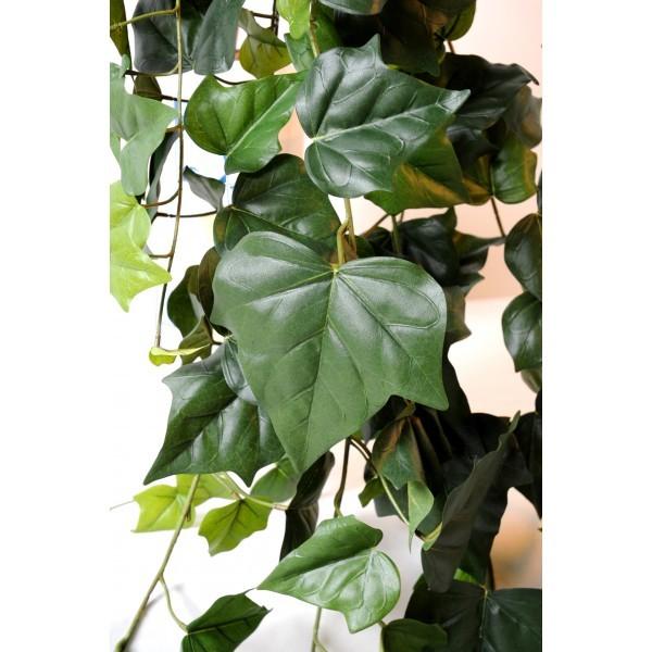 Lierre artificiel 175cm 233 grandes feuilles sur pique for Lierre artificiel