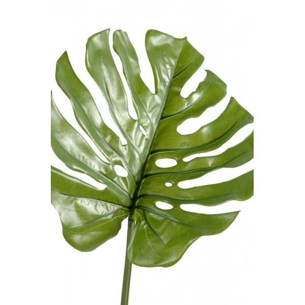 Philodendron feuille artificielle 75cm sur tige mat riel for Flowall pas cher