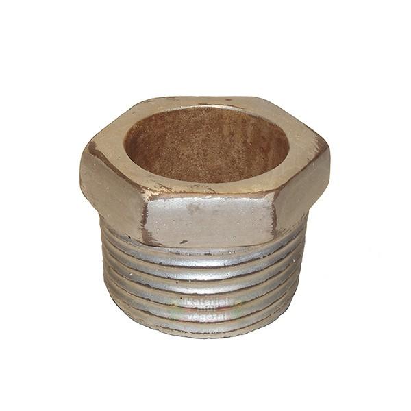 Cache pot c ramique boulon 15x13x10cm mat riel mur v g - Cache pot ceramique ...