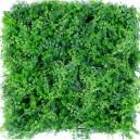 Plaque mur végétal artificiel fougères 50x50cm
