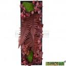 Tableau végétal stabilisé Tablo'Nature 60x20cm Red Eucalyptus Vertical