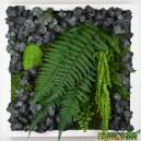 Tableau végétal stabilisé Tablo'Nature 40x40cm Green Eucalyptus
