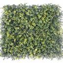 Plaque de buis artificiel vert clair 50x50cm