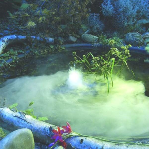 Kit brumisateur nebula 1 t te 6 leds blanches pour bassin for Materiel pour bassin