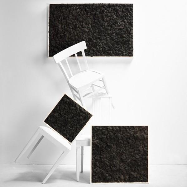 tableau v g tal stabilis lichen noir maxi 114x64cm mat riel mur v g. Black Bedroom Furniture Sets. Home Design Ideas