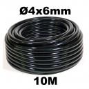 Tuyau d'irrigation Ø 4x6mm 10m linéaire
