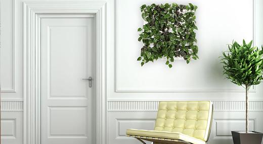 kit mur v g tal flowall blanc 42x40cm mat riel mur v g. Black Bedroom Furniture Sets. Home Design Ideas
