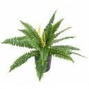 Fougère artificielle 50cm 19 feuilles sur pique