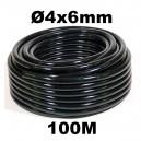 Tuyau d'irrigation Ø 4x6mm 100m linéaire